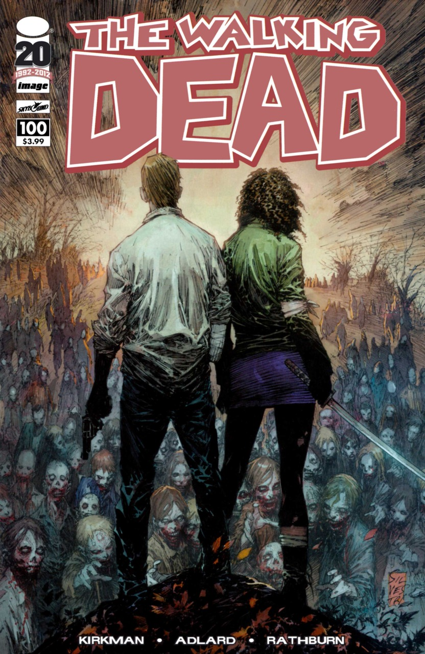 The Walking Dead (2003) no. 100 (Cover B) - Used