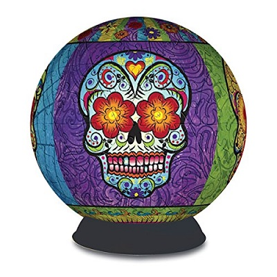 3D Puzzle Sphere: Day of the Dead