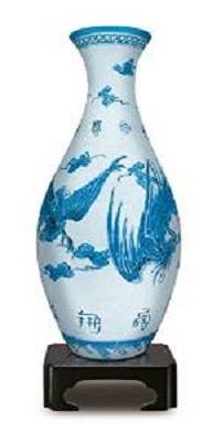 3D Puzzle Vase: Phoenix