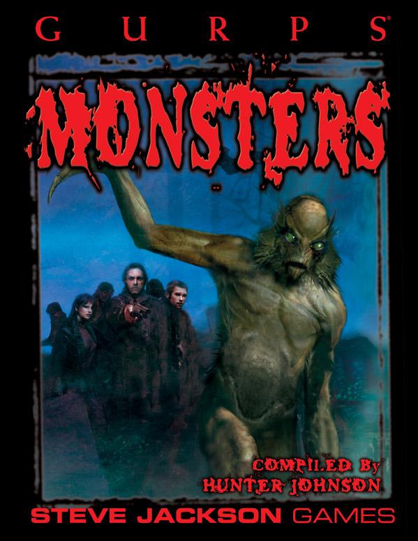 GURPS 3rd Ed: Monsters - Used