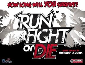 Run Fight or Die Card Game