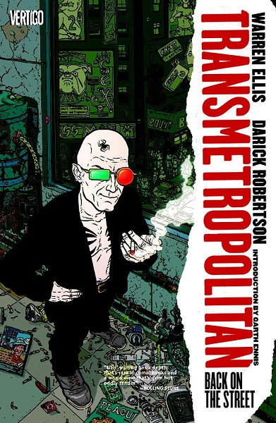 Transmetropolitan: Volume 1: Back on The Street TP