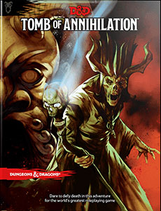 Dungeons and Dragons 5th Ed: Tomb of Annihilation HC