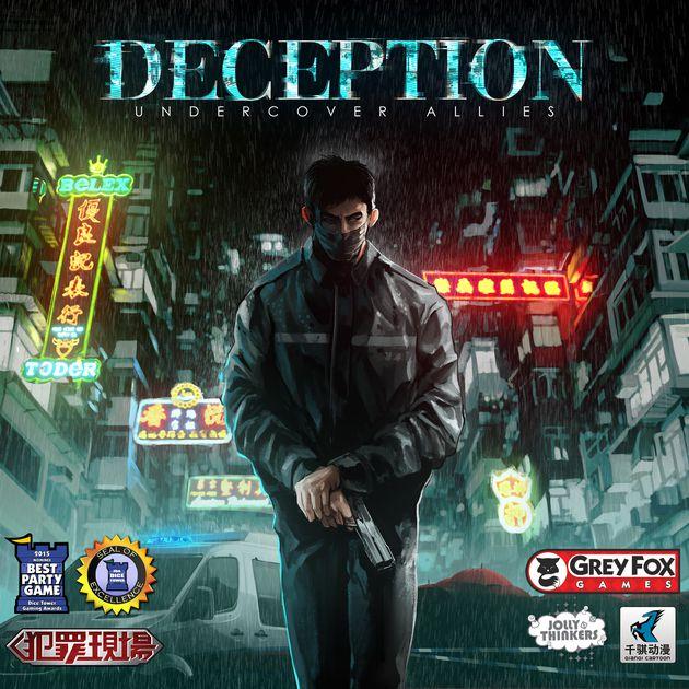 Deception: Murder in Hong Kong: Undercover Allies Expansion