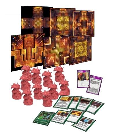 Super Dungeon Explore: Dragonback Peaks: Tile Pack