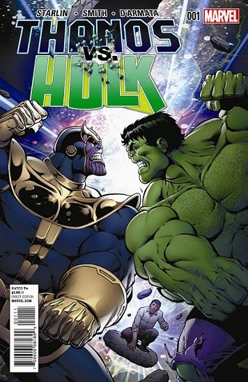 Thanos VS Hulk (2014) Complete Bundle - Used
