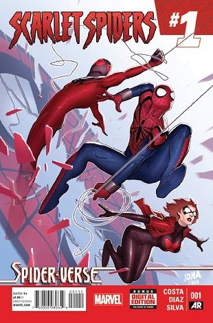 Scarlet Spiders (2014) Spider-Verse Complete Bundle - Used