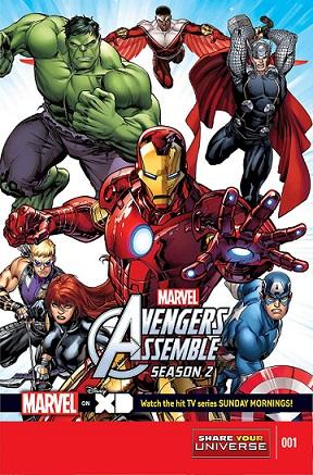 Marvel Universe Avengers Assemble: Season Two: no. 1