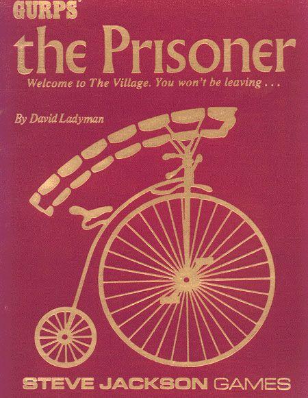 Gurps 1st ed: the Prisoner - Used