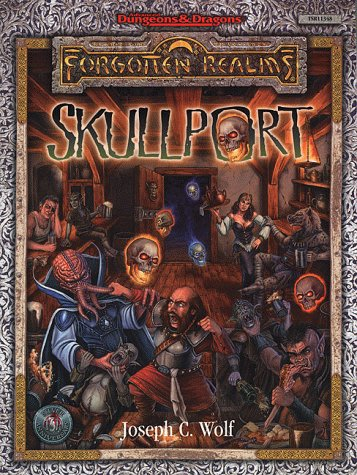 Dungeons and Dragons 1st ed: Forgotten Realms: Skullport - Used