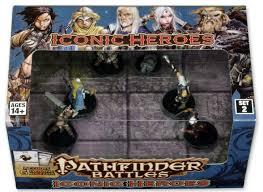 Pathfinder Battles: Iconic Heroes Box Set 2