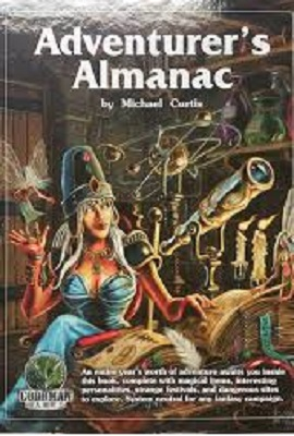 Adventurers Almanac HC