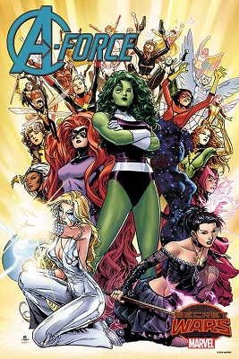 A-Force no. 1 by Cheung Poster Boarded