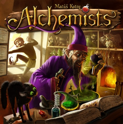 Alchemists Board Game - USED - By Seller No: 11222 Chris Venturini
