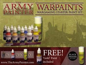 Warpaints: Wargaming Starter Paint Set