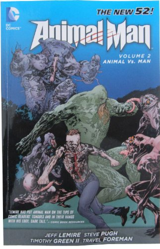 Animal Man: Volume 2: Animal Vs. Man (New 52) TP - Used