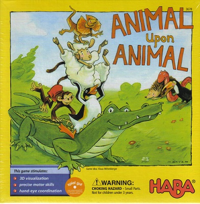 Animal Upon Animal Board Game