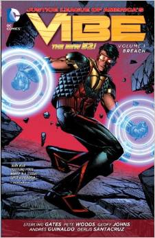 Justice League of America's Vibe: Volume 1: Breach TP - Used