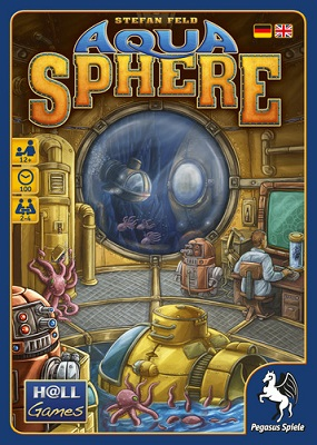 Aquasphere Board Game - USED - By Seller No: 375 Craig Maloney