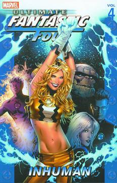 Ultimate Fantastic Four: Volume 4: Inhuman TP - Used