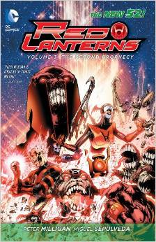 Red Lanterns: Volume 3: The Second Prophecy TP - Used