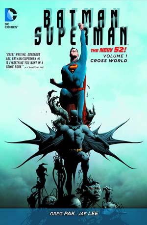 Batman Superman: Volume 1: Cross World (New 52) TP