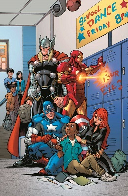 Avengers Anti Bullying Poster (24 in x 36 in) Boarded