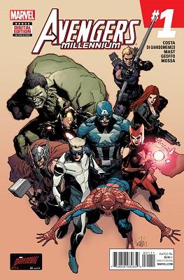 Avengers Millennium (2015) Complete Bundle - Used