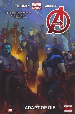 Avengers: Volume 5: Adapt or Die TP