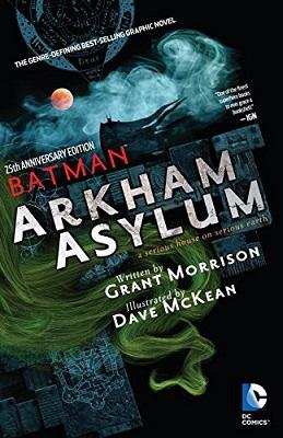 Batman: Arkham Asylum: 25th Anniversary Deluxe Edition HC (MR)