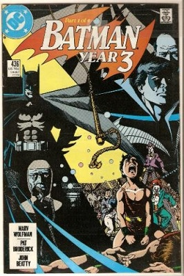 Batman: Year 3 Complete Bundle (4 Issues) - Used