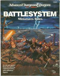 Dungeons and Dragons 2nd ed: Battle System Miniatures Rules - USED
