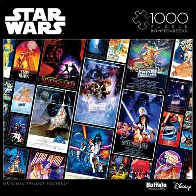 Star Wars Vintage Art: Original Trilogy Posters Puzzle (1000 pieces)