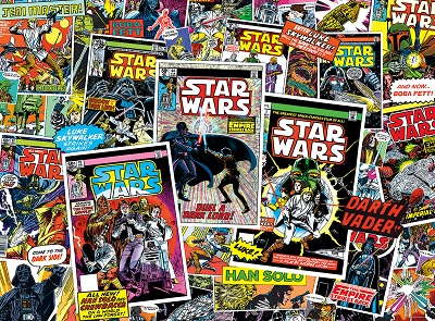 Star Wars Vintage Art: Classic Comic Books Puzzle (1000 Pieces)