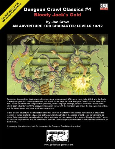 Dungeon Crawl Classics: No. 4: Bloody Jack's Gold - Used