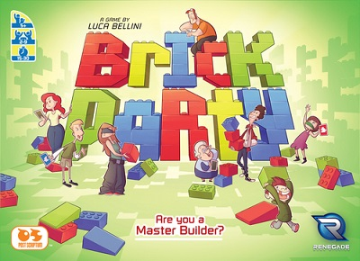 Brick Party Board Game
