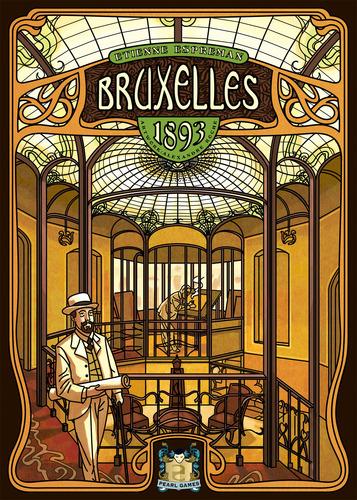 Bruxelles 1893 Board Game (Asmodee)