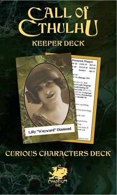 Call of Cthulhu: 7th Edition Keepers Decks