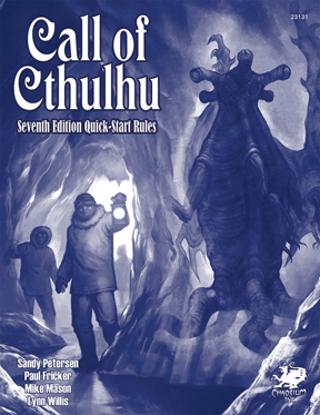 Call of Cthulhu 7th Ed: Quick Start Rules
