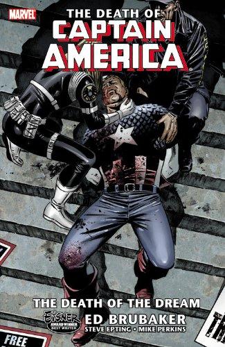 Captain America: Volume 1: The Death of Captain America TP - Used