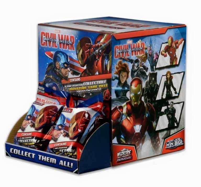 Marvel HeroClix: Captain America: Civil War Movie Gravity Feed