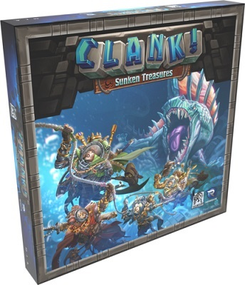 Clank: Sunken Treasures Expansion