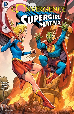 Convergence: Supergirl Matrix no. 2 - Used