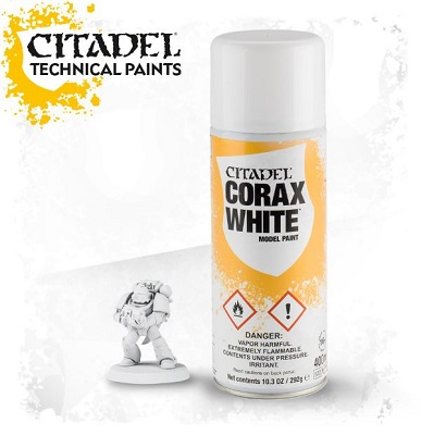 Citadel: Corax White Spray Paint 62-28