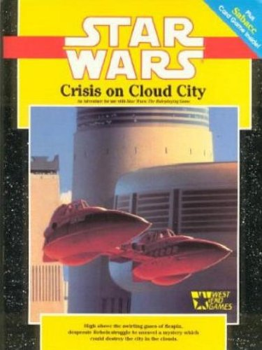 Star Wars RPG: Crisis on Cloud City: No Cards or Map - Used