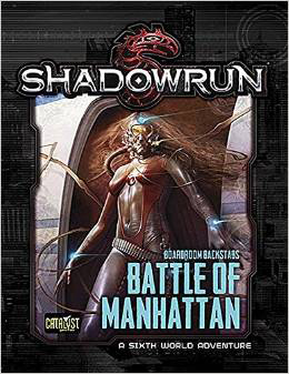 Shadowrun 5th Ed: the Battle of Manhattan BB3 - Used