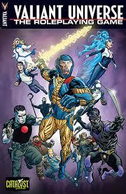 Valiant Universe Role Playing Core Rule Book - Used