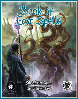 Dungeons and Dragons 5th ed: Book of Lost Spells