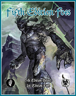 Dungeons and Dragons 5th ed: Fifth Edition Foes