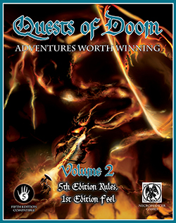 Dungeons and Dragons 5th ed: Quests of Doom Volume 2 - Used
